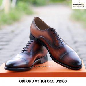 Giày nam da bò đẹp cao cấp đẹp Oxford Vyhofoco U1980 009