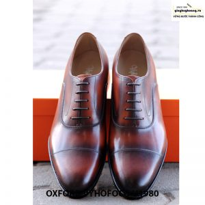 Giày nam da bò cao cấp đẹp Oxford Vyhofoco U1980 008
