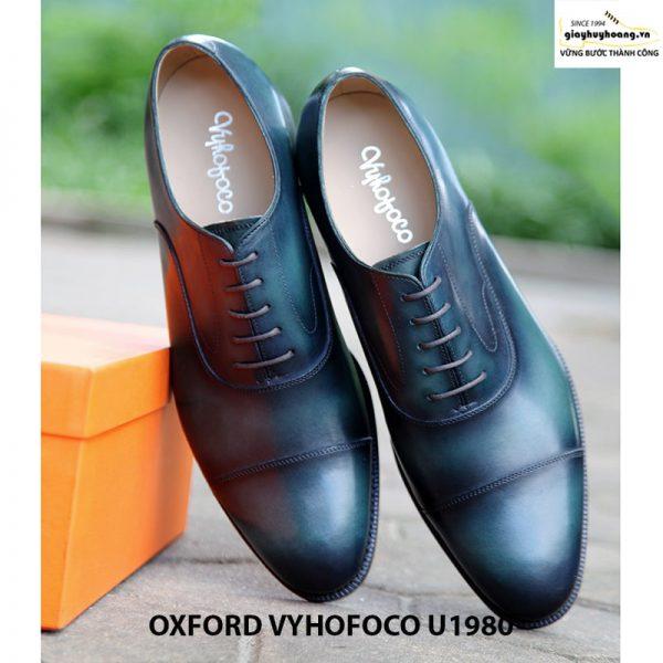 Giày tây nam da bò cao cấp đẹp Oxford Vyhofoco U1980 005