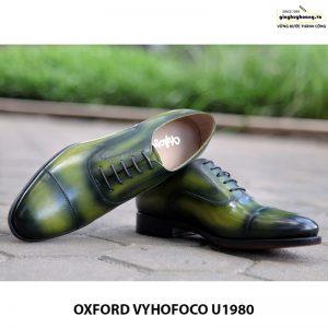Giày tây nam da bò giá rẻ đẹp Oxford Vyhofoco U1980 004