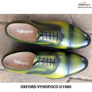 Giày nam da bò đẹp cao cấp đẹp Oxford Vyhofoco U1980 003