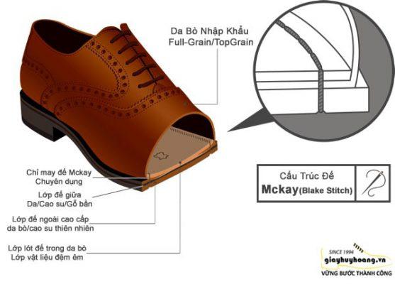 PHương pháp may giày mc kay chính hãng Huy Hoàng