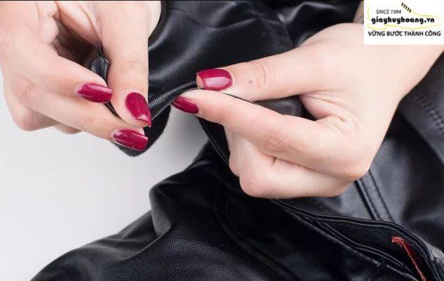 Cách nhận biết giày da thật giả qua viền cắt