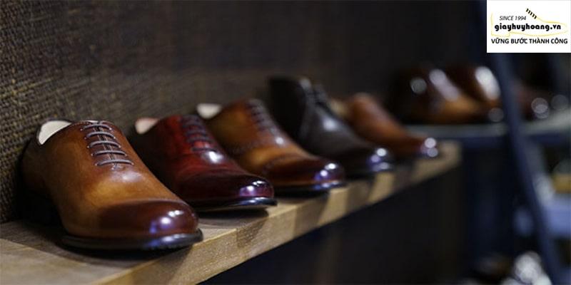 Cửa hàng giày tây nam da bò ở tỉnh bình dương