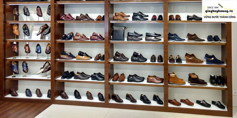 Cửa hàng bán giày nam da bò thật đẹp tại huyện củ chi Huy Hoàng 002