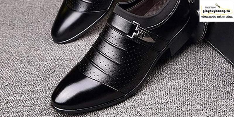 Công nghệ Đánh bóng giày da Ultragloss tại huy hoàng shoes