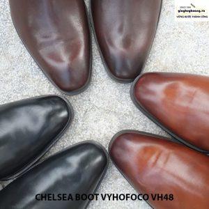 Giày da nam cổ cao cao cấp chính hãng CHELSEA BOOT vyhofoco VH48 006