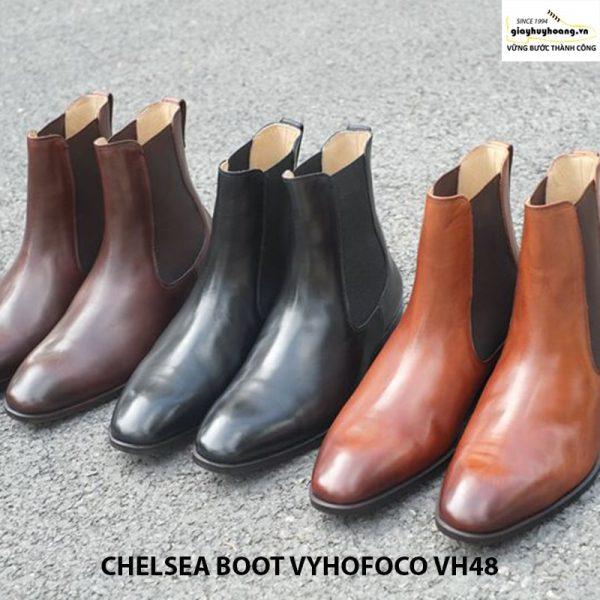 Giày da nam cổ cao chính hãng CHELSEA BOOT vyhofoco VH48 005