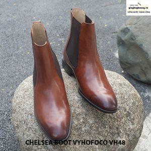 Giày tây da nam cổ cao chính hãng CHELSEA BOOT vyhofoco VH48 002