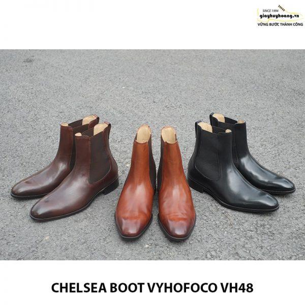 Giày da nam cổ cao chính hãng CHELSEA BOOT vyhofoco VH48 001