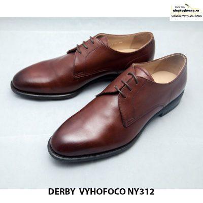 Giày da nam cao cấp Derby vyhofoco NY312 cao cấp chính hãng 001