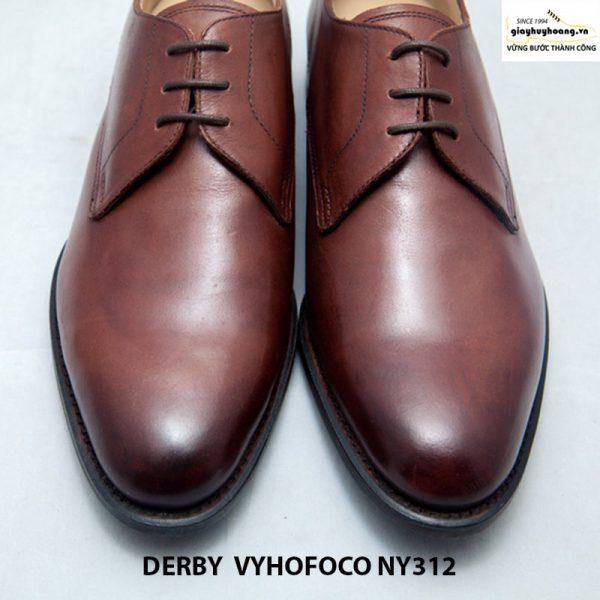 Giày da nam cao cấp Derby vyhofoco NY312 cao cấp chính hãng 010