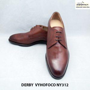 Giày da nam cao cấp Derby vyhofoco NY312 cao cấp sang trọng 006