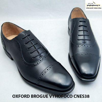 Giày tây da nam thủ công oxford vyhofoco cnes38 chính hãng 001