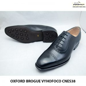 Giày tây da nam thủ công oxford vyhofoco cnes38 chính hãng 007