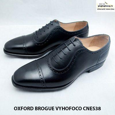 Giày tây da nam thủ công oxford vyhofoco cnes38 chính hãng 006