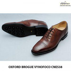 Giày tây da nam thủ công oxford vyhofoco cnes38 chính hãng 005