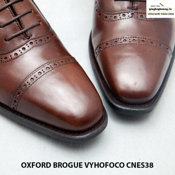 Giày nam da bò thủ công oxford vyhofoco cnes38 chính hãng 004