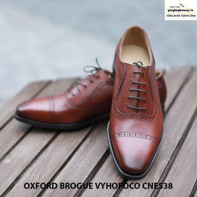Giày da nam giá rẻ thủ công oxford vyhofoco cnes38 chính hãng 003