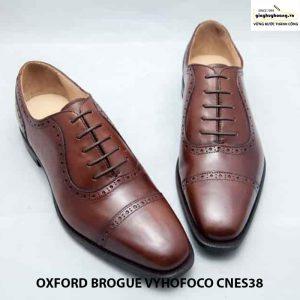 Giày da nam cao cấp oxford vyhofoco cnes38 chính hãng 002