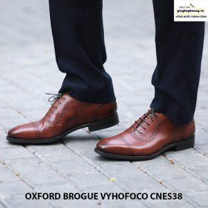 Giày da nam cao cấp thủ công oxford vyhofoco cnes38 chính hãng 002