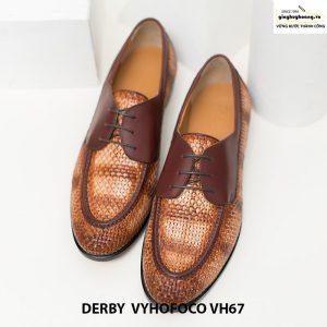 Giày nam da bò trẻ trung cao cấp derby vyhofoco vh67 chính hãng 001