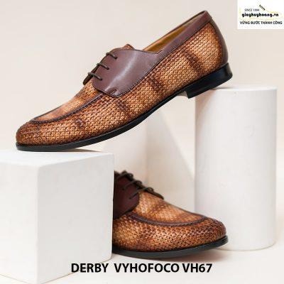 Giày da bò nam đẹp cao cấp derby vyhofoco vh67 chính hãng 004