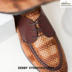 Giày nam da bò thật 100% cao cấp derby vyhofoco vh67 chính hãng 003