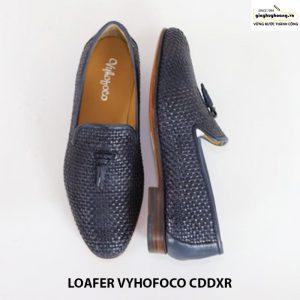Giày lười loafer da bò nam đẹpvyhofoco CDDXR cao cấp chính hãng 003