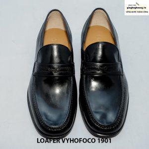 Giày da dê nam giày lười loafer vyhofoco 1901 cao cấp chính hãng 001