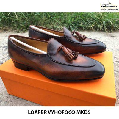 Giày lười da bò thật nam Loafer Vyhofoco Mkd5 giá rẻ 005