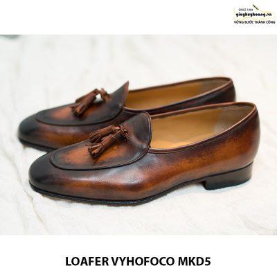 Giày lười da bò nam Loafer Vyhofoco Mkd5 giá rẻ 003