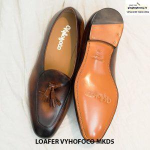 Giày lười da bò nam Loafer Vyhofoco Mkd5 cao cấp 002