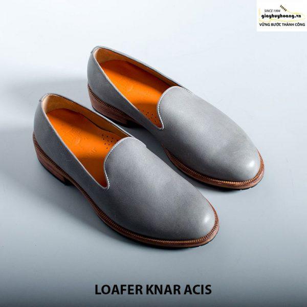 Giày lười nam da bò loafer knar acis cao cấp chính hãng 010