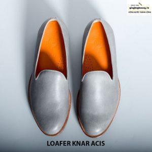 Giày lười nam da bò loafer knar acis giá rẻ chính hãng 09