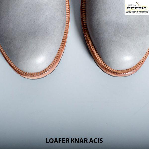 Giày lười nam da bò thật 100% loafer knar acis cao cấp chính hãng 007