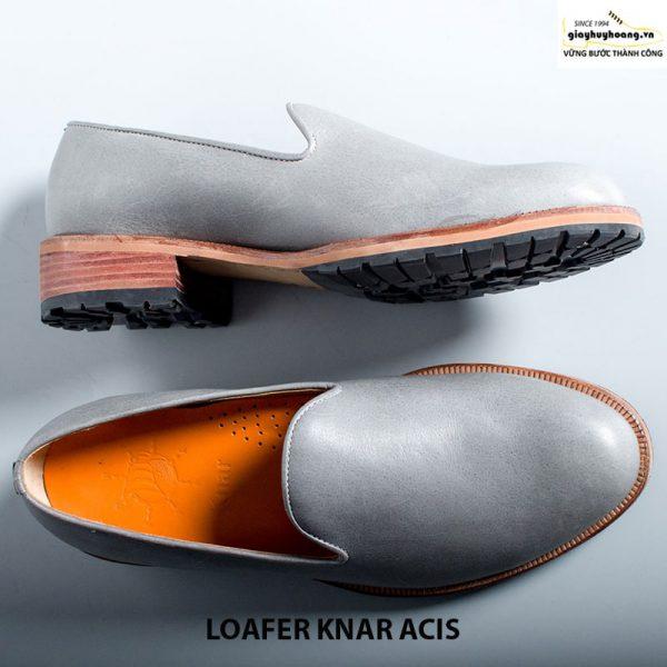 Giày lười nam da bò thật loafer knar acis cao cấp chính hãng 005