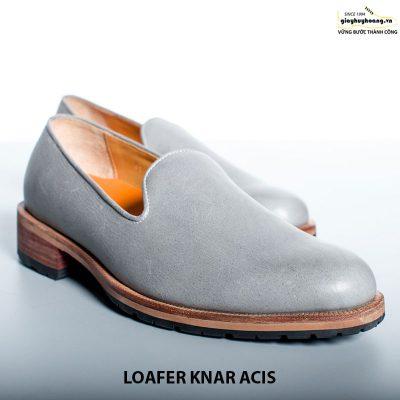 Giày lười nam da bò loafer knar acis cao cấp chính hãng 003