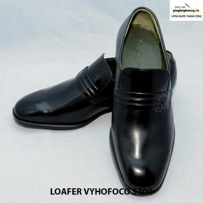 Giày nam da dê giày lười loafer vyhofoco 5700 cao cấp đẹp 005