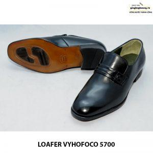 Giày nam da dê giày lười loafer vyhofoco 5700 đẹp tuyệt vời 004