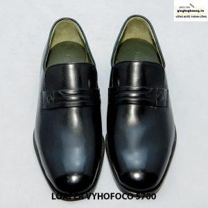 Giày nam da dê giày lười loafer vyhofoco 5700 cao cấp 001