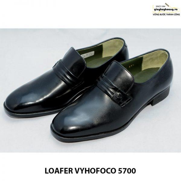 Giày nam da dê giày lười loafer vyhofoco 5700 cao cấp chính hãng 003