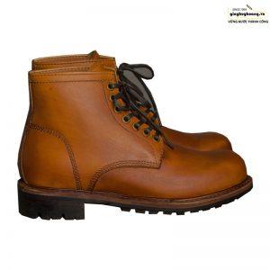 Giày da nam cổ cao boot knar irminsul cao cấp chính hãng 001