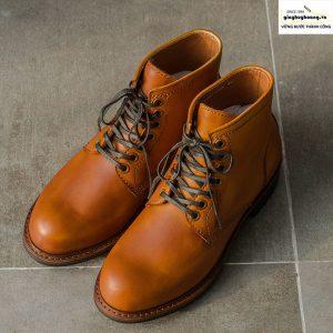 Giày da nam cổ cao boot knar irminsul cao cấp chính hãng 005