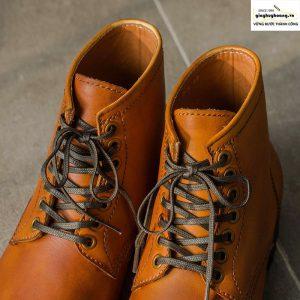 Giày da nam cổ cao boot knar irminsul cao cấp chính hãng 004