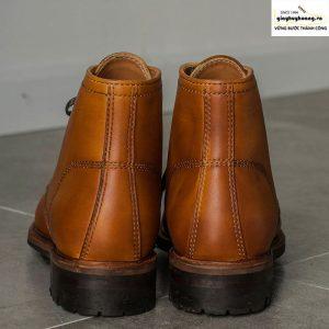 Giày da nam cổ cao boot knar irminsul cao cấp chính hãng 003