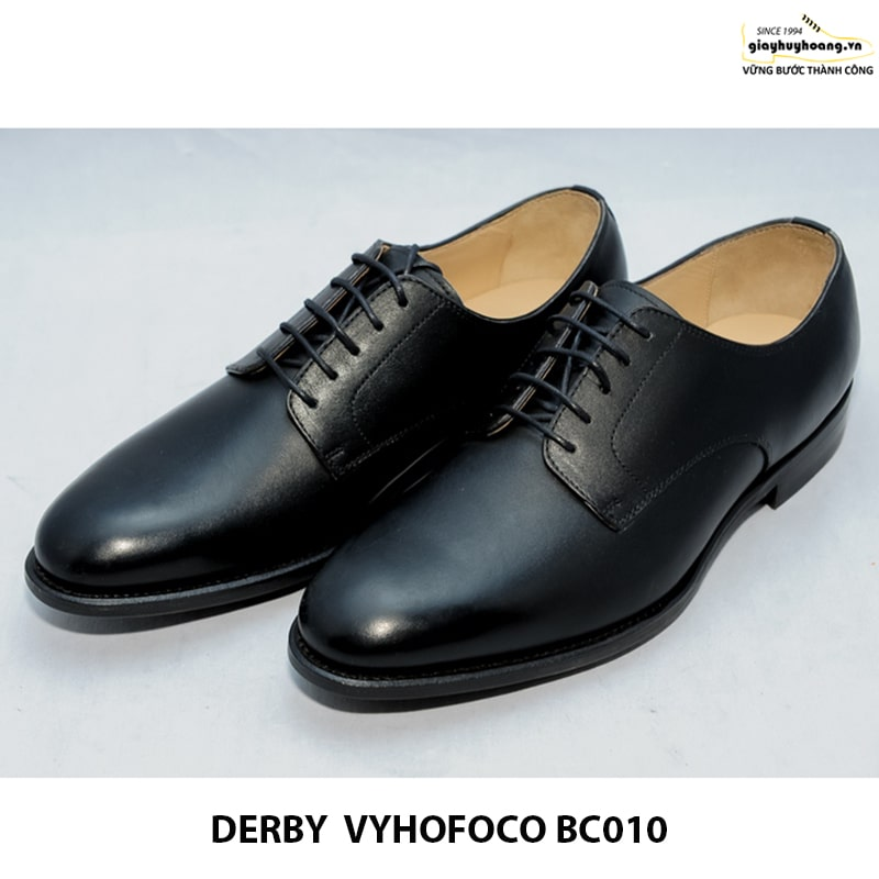 Bán giày tây nam da bò cao cấp Derby Vyhofoco BC010 thủ công chínhãng