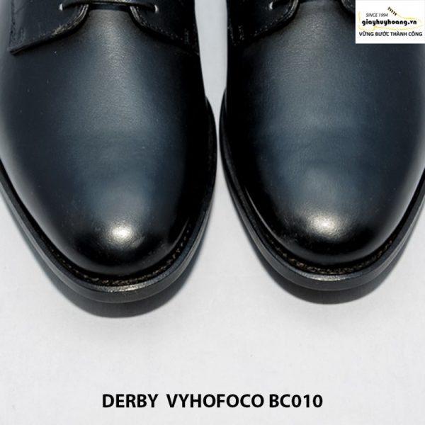 Giày tây nam da bò màu đen Derby Vyhofoco BC010 chính hãng cao cấp 003