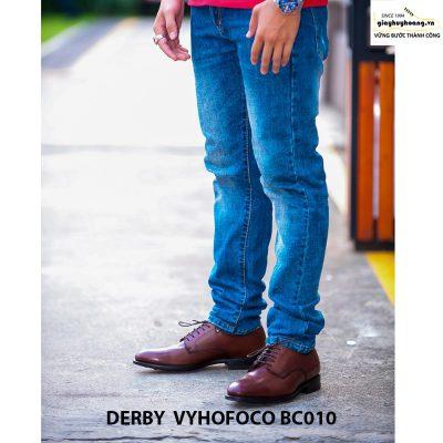 Giày tây nam da bò Derby Vyhofoco BC010 chính hãng cao cấp 008