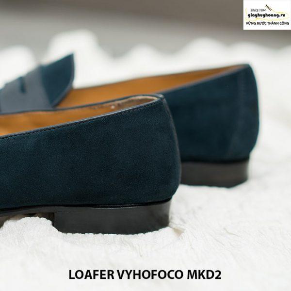Giày nam lười da bò giá rẻ loafer Vyhofoco MKD2 cao cấp 005